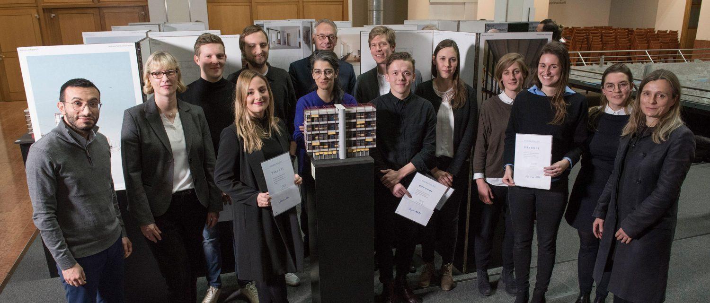 Verleihung der Ernst-May-Preise 2017, Frankfurt am Main, 12.12.2017