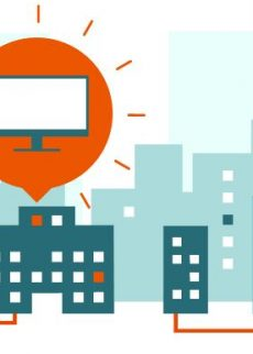 Übergang vom analogen zum digitalen TV