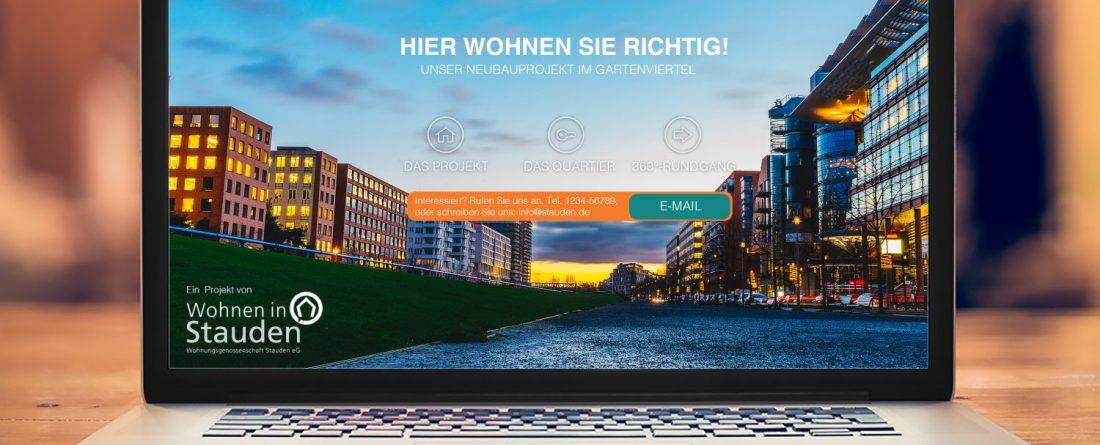 Landing Page, und wie können Wohnungsunternehmen sie für ihr Marketing nutzen